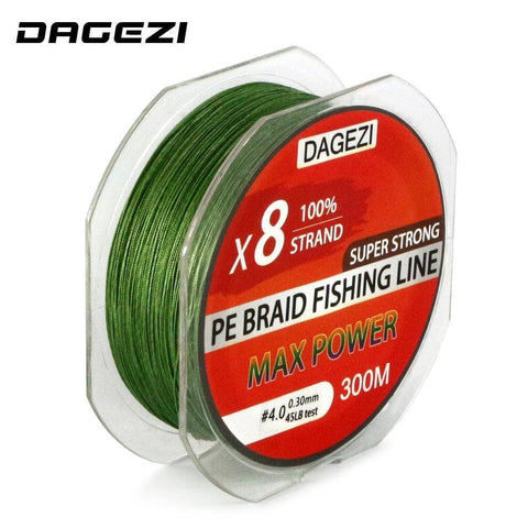 8 Strand 300m/330YDS Fishing Lines
