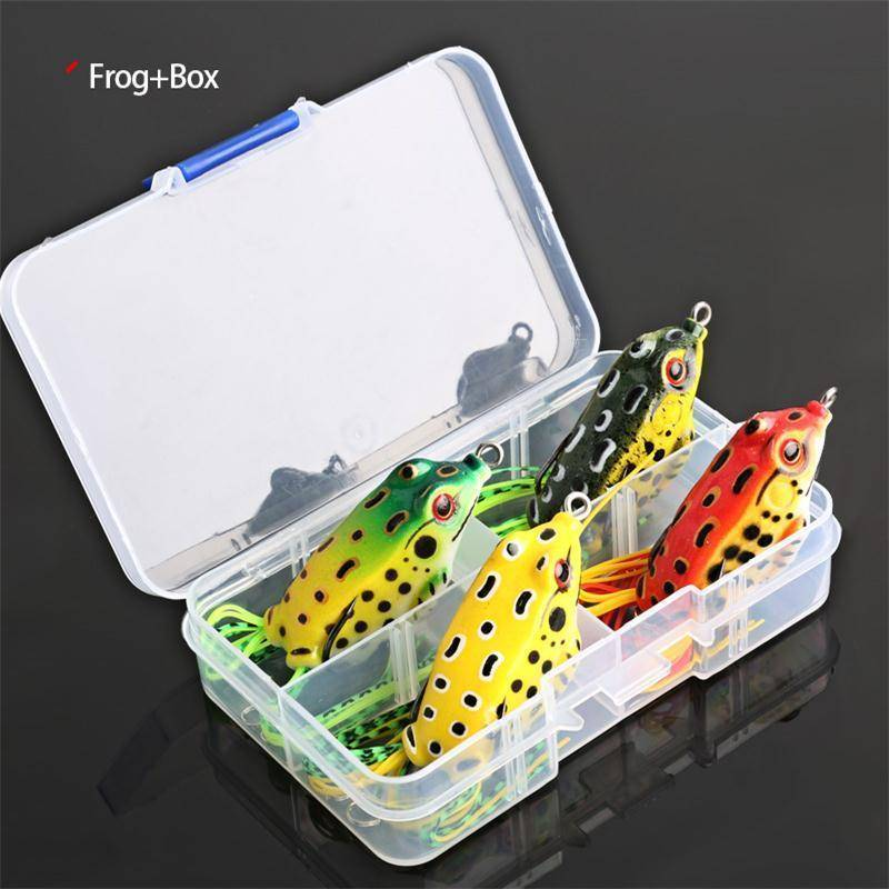 Frog Fishing Snake-head Lures