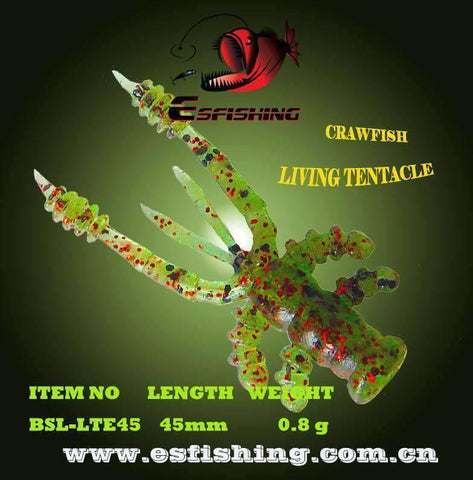 Image of Floating Crawfish Ice Fishing Bait