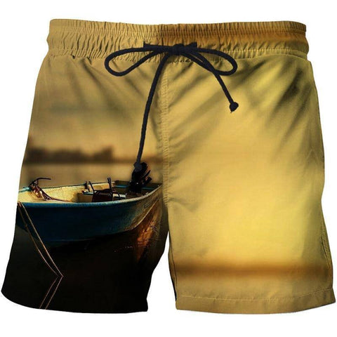 Image of 3D Printing Men's Swim Shorts