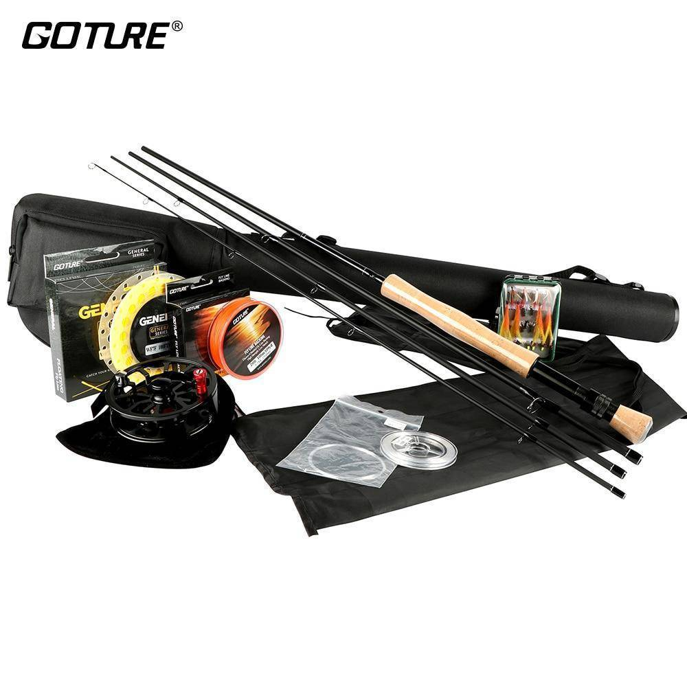 Fly Fishing Rod and Reel Combo Set