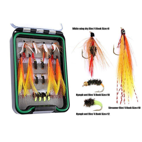 Image of Fly Fishing Rod and Reel Combo Set