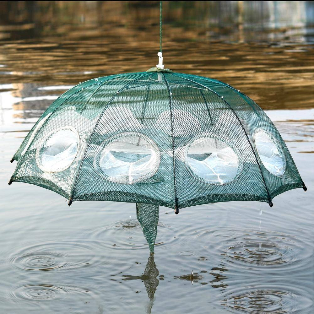 Portable Folding Fishing Trap Net