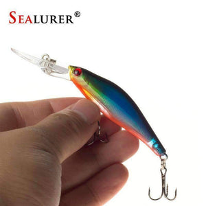 SEALURER 3D Eyes Sinking Lure