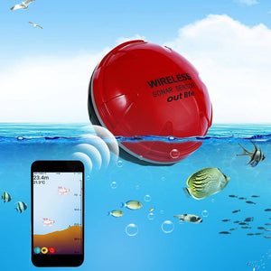 Smart Phone Fish Finder, Wireless Sonar Sensor