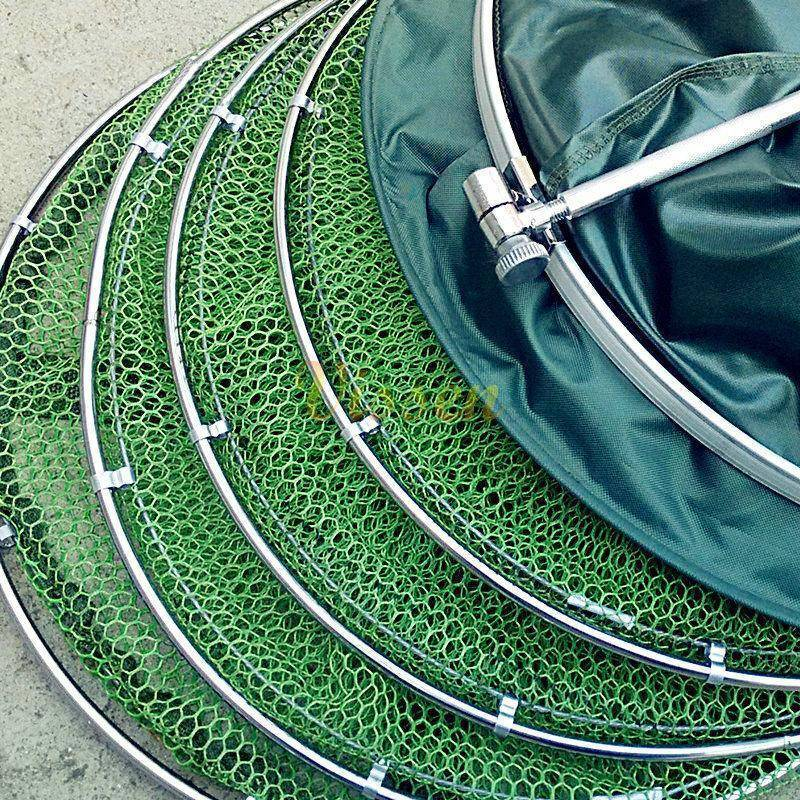 Universal Stainless Steel Double Ring Anti-Hanging Fishing Net