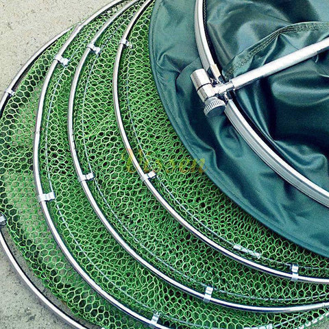 Image of Universal Stainless Steel Double Ring Anti-Hanging Fishing Net
