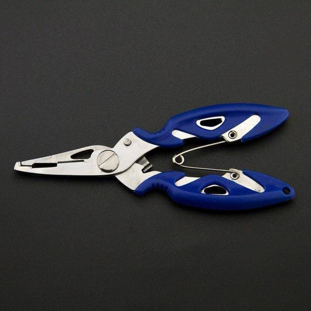 Fish Trap Accessories Blue Stainless Steel Fishing Pliers
