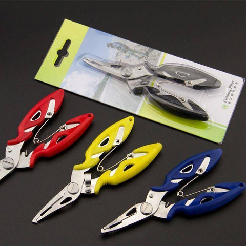 Fish Trap Accessories Stainless Steel Fishing Pliers