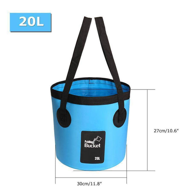 Fish-Trapp Accessories 20L Folding Collapsible Fishing Bucket