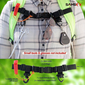 Adjustable Universal Angler Vest Belt