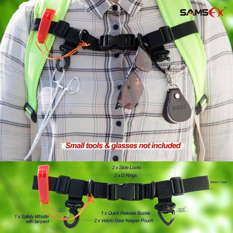 Image of Fish-Trapp Accessories Adjustable Universal Angler Vest Belt