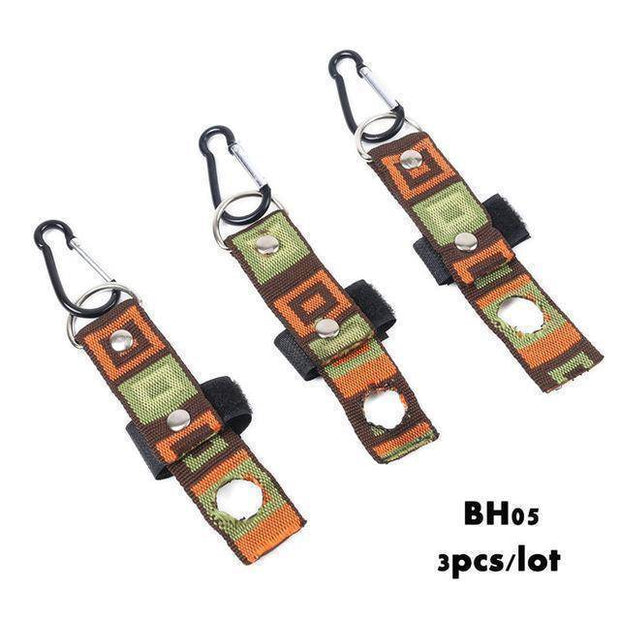 Fish-Trapp Accessories BH05 3PCS Ultralight Aluminum Bottle Holder