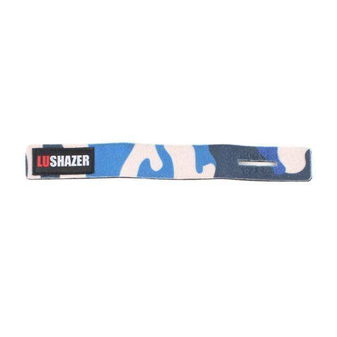 Image of Fish-Trapp Accessories Blue & White Fishing Rod Protective Strap