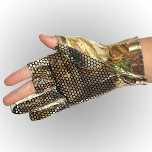 Fish-Trapp Accessories Fingerless Camo Fish Glove