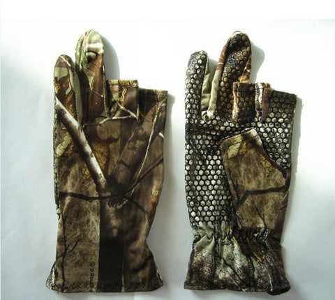 Image of Fish-Trapp Accessories M Fingerless Camo Fish Glove