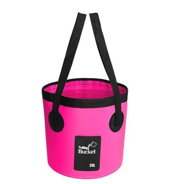Fish-Trapp Accessories Rose 20L Folding Collapsible Fishing Bucket