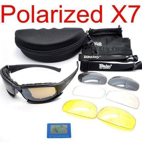 Image of Fish-Trapp Accessories X7 polarized Polarized Fishing Sunglasses