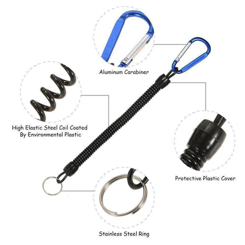 Image of Fish-Trapp Accessory Coiled Fishing Lanyard
