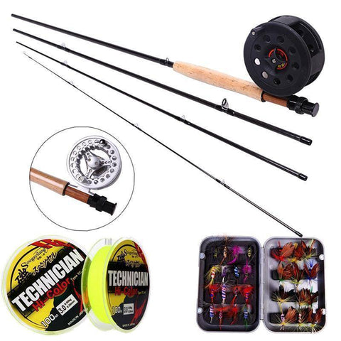 Fish-Trapp Combos Fly Rod and Fly Reel Combo Deal