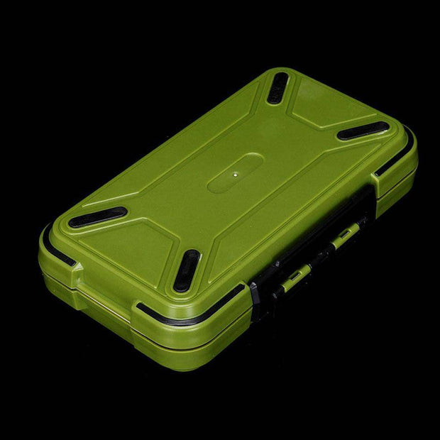 Fish-Trapp Fishing Boxes Double Layer Hard Plastic Fishing Box