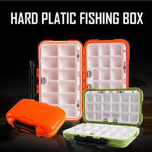Double Layer Hard Plastic Fishing Box