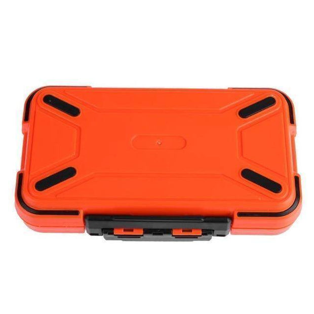 Fish-Trapp Fishing Boxes Orange Fishing Tackle Storage Box