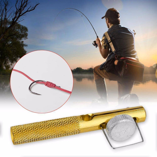 Fish-Trapp Fishing Tackle Aluminum Alloy Fishing Line Knotter