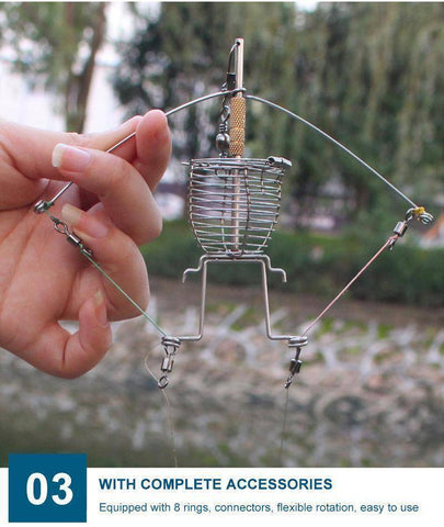 Image of Fish-Trapp Fishing Tackle Multi-function automatic fishing spring trap.