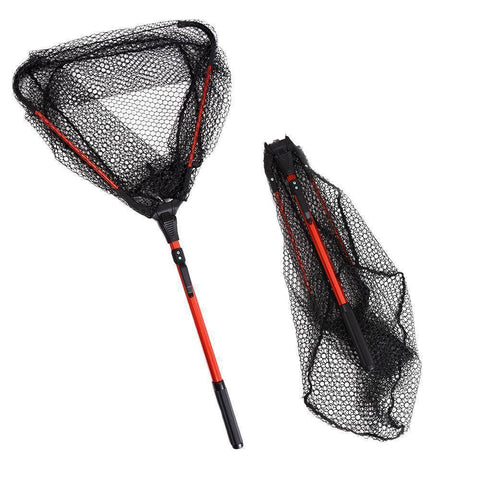 Image of Fish-Trapp Landing Nets Aluminum Alloy 80cm Retractable Fishing Net