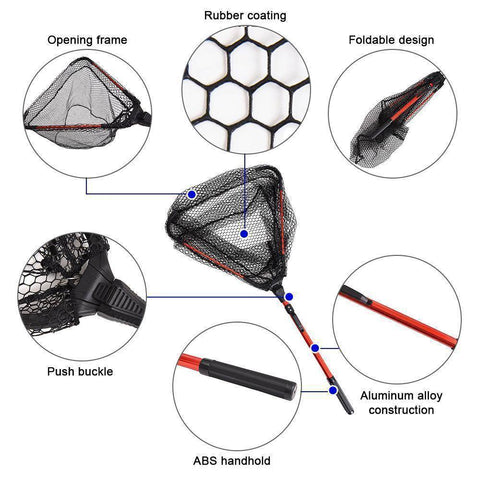 Image of Fish-Trapp Landing Nets Fly Fishing Telescoping Landing Net