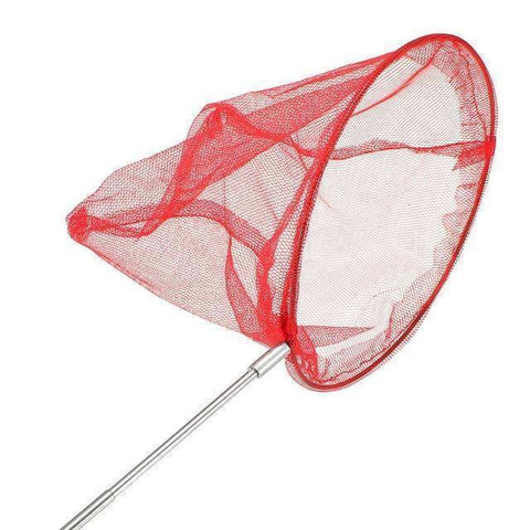 Image of Fish-Trapp Landing Nets Red Bobing Butterfly Net