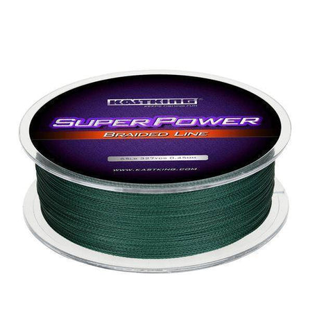 Image of Fish-Trapp Line Green / 0.09mm-10LB KastKing 300M PE Braided Fishing Line