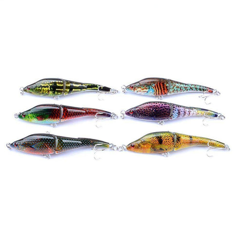 Image of Fish-Trapp Lures 6pcs Fishing Lures Crankbait