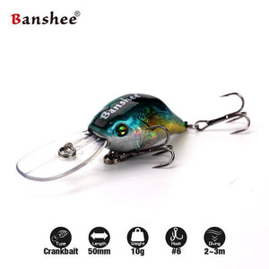 Banshee Profound Pulse Floating Bass Fishing Lure