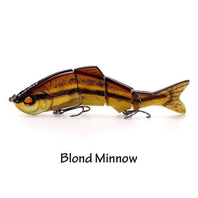 Fish-Trapp Lures Blond Minnow Banshee Nexus Prophecy Multi Jointed Swimbait