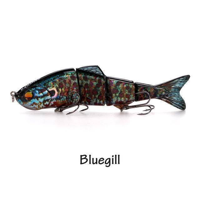 Fish-Trapp Lures Bluegill Banshee Nexus Prophecy Multi Jointed Swimbait