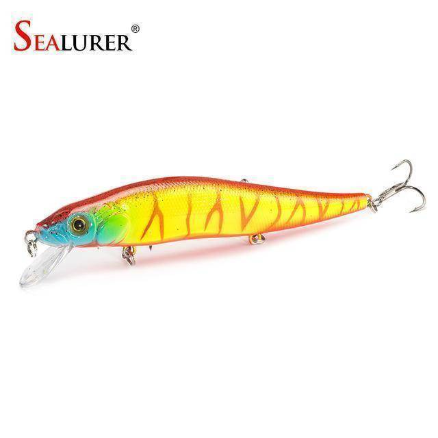 Fish-Trapp Lures F Minnow Hard Bait Fishing Lure