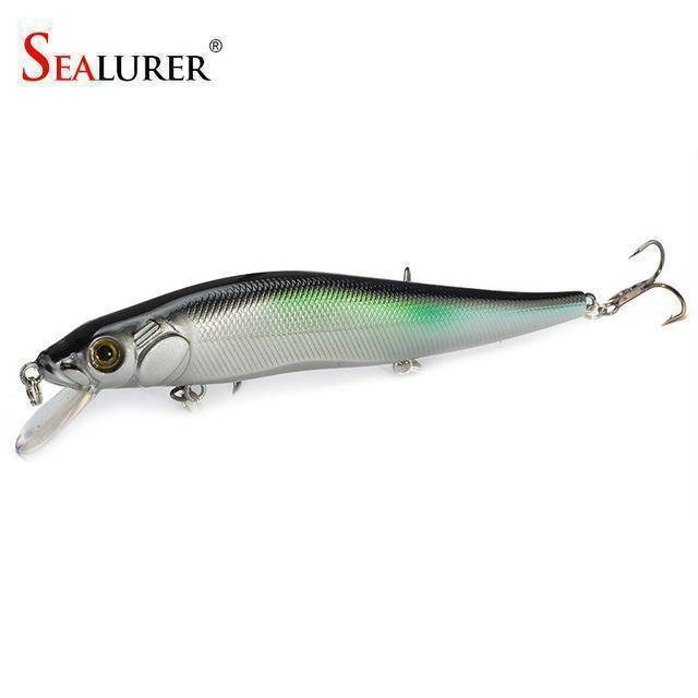 Fish-Trapp Lures H Minnow Hard Bait Fishing Lure