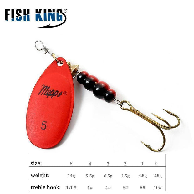 Fish-Trapp Lures Mepps Artificial Fishing Lure