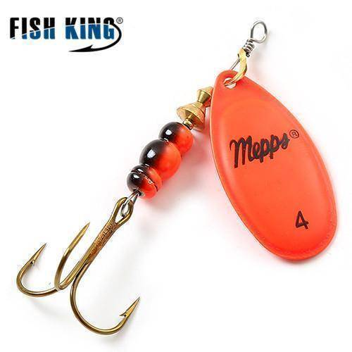 Fish-Trapp Lures Orange 4 Mepps Artificial Fishing Lure
