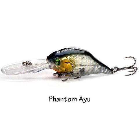 Fish-Trapp Lures Phantom Ayu Banshee Profound Pulse Floating Bass Fishing Lure