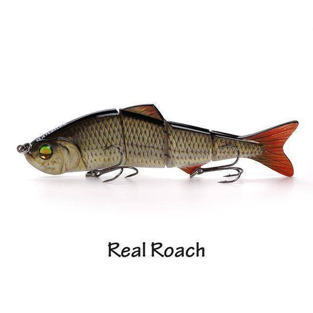 Fish-Trapp Lures Real Roach Banshee Nexus Prophecy Multi Jointed Swimbait