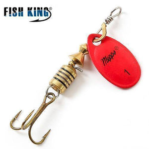 Fish-Trapp Lures Red 1 Mepps Artificial Fishing Lure