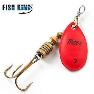 Fish-Trapp Lures Red 2 Mepps Artificial Fishing Lure