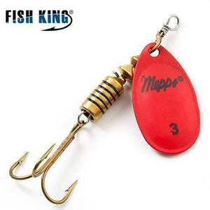 Fish-Trapp Lures Red 3 Mepps Artificial Fishing Lure