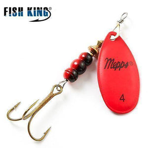 Fish-Trapp Lures Red 4 Mepps Artificial Fishing Lure