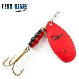 Fish-Trapp Lures Red 5 Mepps Artificial Fishing Lure