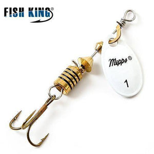 Fish-Trapp Lures White 1 Mepps Artificial Fishing Lure