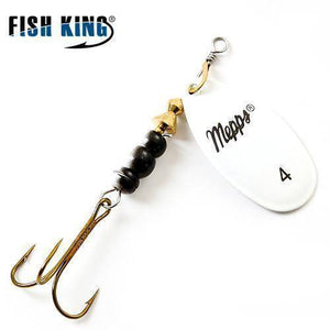 Fish-Trapp Lures White 4 Mepps Artificial Fishing Lure
